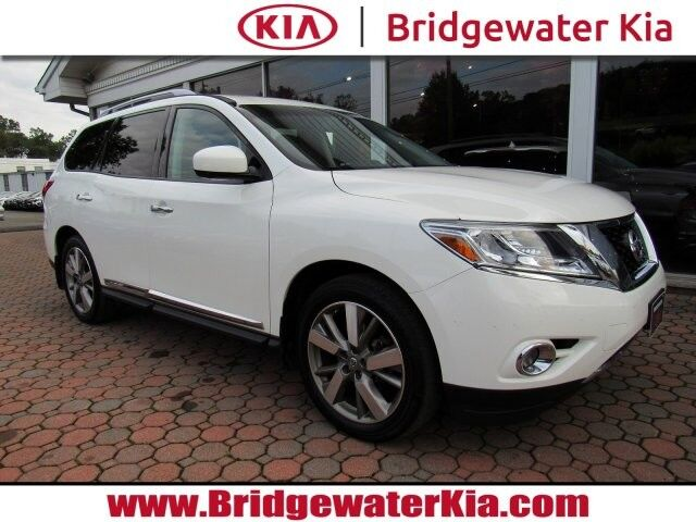 2015 Nissan Pathfinder Platinum 4WD, Navigation System, Rear-View Camera, Bose Premium Sound, Ventilated Leather Seats, 3RD Row Seats, Panorama Sunroof, Power Liftgate, 20-Inch Alloy Wheels, Bridgewater NJ