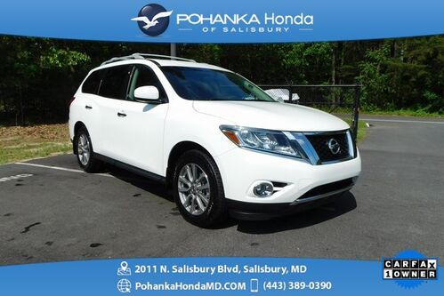 2015_Nissan_Pathfinder_S 4X4 ** 3rd Row Seating ** ONE OWNER **_ Salisbury MD