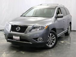 2015_Nissan_Pathfinder_SL / 3.5L V6 Engine / 4WD / Parking Aid with Rear View Camera / Push Start / 3rd Row Seats / Heated Leather Seats_ Addison IL