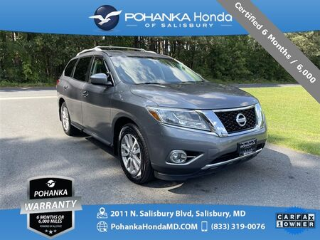 2015_Nissan_Pathfinder_SV 4WD 3RD ROW ** Certified 6 Months / 6,000  **_ Salisbury MD