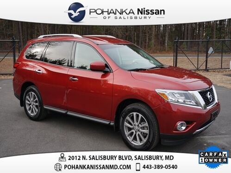 2015_Nissan_Pathfinder_SV Certified_ Salisbury MD