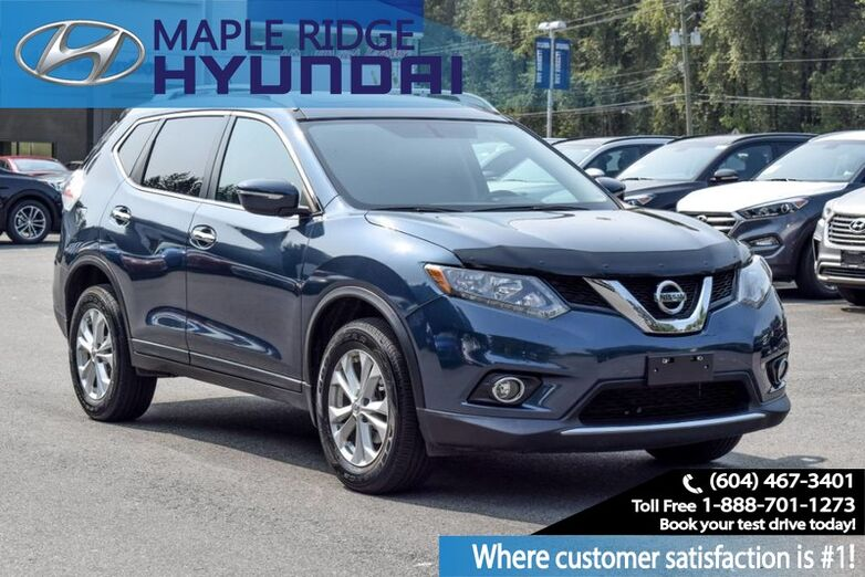 2015 Nissan Rogue AWD 4dr SV Maple Ridge BC