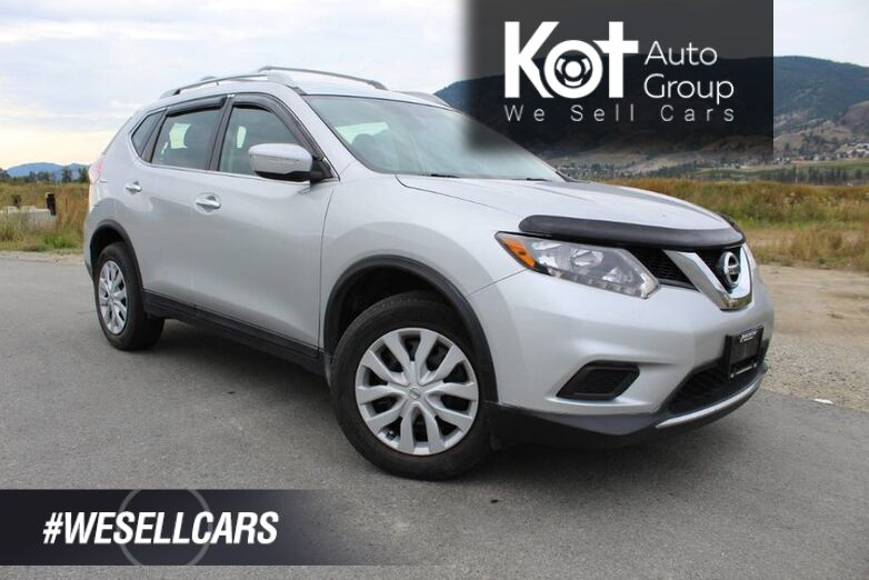2015 Nissan Rogue AWD, S, Low Km's Penticton BC