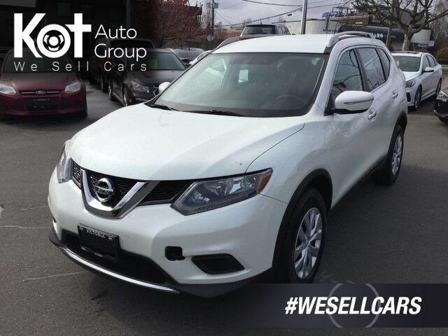 2015 Nissan Rogue S Key-Less Entry! Backup Camera! Kelowna BC
