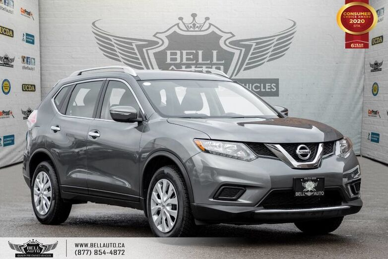2015 Nissan Rogue S, NO ACCIDENT, AWD, REAR CAM, BLUETOOTH, CRUISE CNTRL Toronto ON