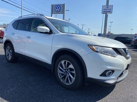 2015_Nissan_Rogue_SL ** LEATHER & NAV ** 33+ MPG **_ Salisbury MD
