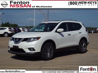 2015_Nissan_Rogue_SL_ McAlester OK