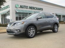 2015_Nissan_Rogue_SL AWD 2.5L 4CYL AUTOMATIC, LEATHER SEATS, NAVIGATION SYSTEM, SUNROOF, BLIND SPOT MONITOR,SAT RADIO_ Plano TX