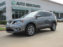 2015_Nissan_Rogue_SL AWD NAV, SUNROOF, BLIND SPOT, LANE DEPART, HTD SEATS, BLUETOOTH, BACKUP CAM, AUX INPUT_ Plano TX