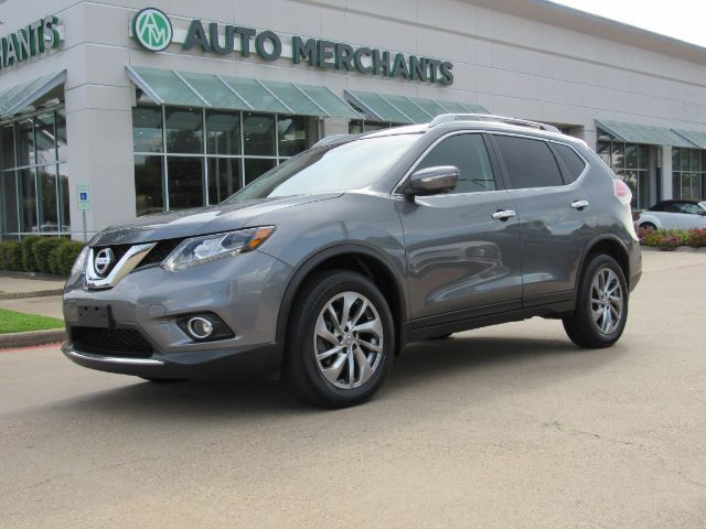 2015 Nissan Rogue SL AWD NAV, SUNROOF, BLIND SPOT, LANE DEPART, HTD SEATS, BLUETOOTH, BACKUP CAM, AUX INPUT Plano TX