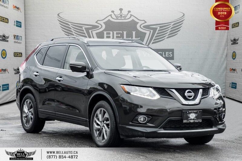 2015 Nissan Rogue SL, AWD, NAVI, 360 CAM, PANO ROOF, LEATHER, PUSH START Toronto ON