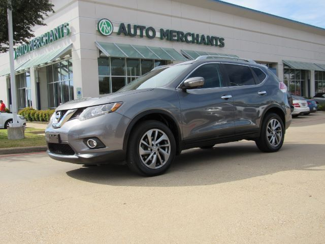 2015 Nissan Rogue SL AWD, PANORAMIC, LEATHER, NAVIGATION, BLIND SPOT, POWER LIFT-GATE, HEATED SEAT Plano TX