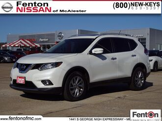 2015_Nissan_Rogue_SL CERTIFIED_ McAlester OK