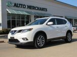 2015 Nissan Rogue SL FWD NAV, SUNROOF, LANE DEPART, HTD SEATS, BACKUP CAM, BLUETOOTH, PWR LIFT, AUX INPUT, PUSH BUTTON