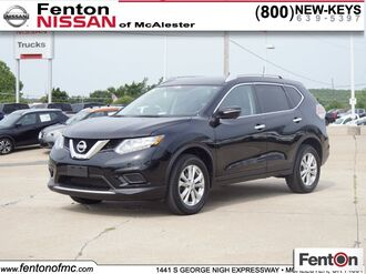 2015_Nissan_Rogue_SV_ McAlester OK