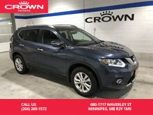 2015_Nissan_Rogue_SV AWD / Clean Carproof / One Owner / Low Kms / Great Value_ Winnipeg MB