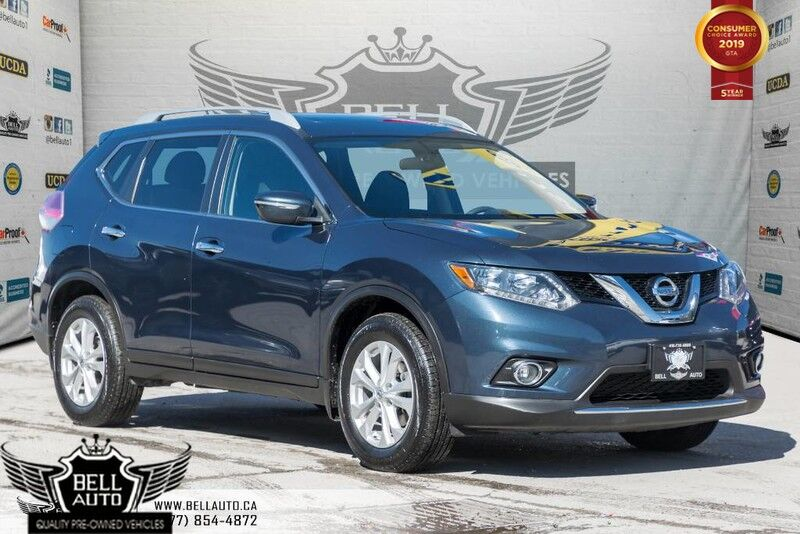 2015 Nissan Rogue SV, BACK-UP CAM, PANOROOF, HEATED SEATS, BLUETOOTH, VOICE COMMAND
