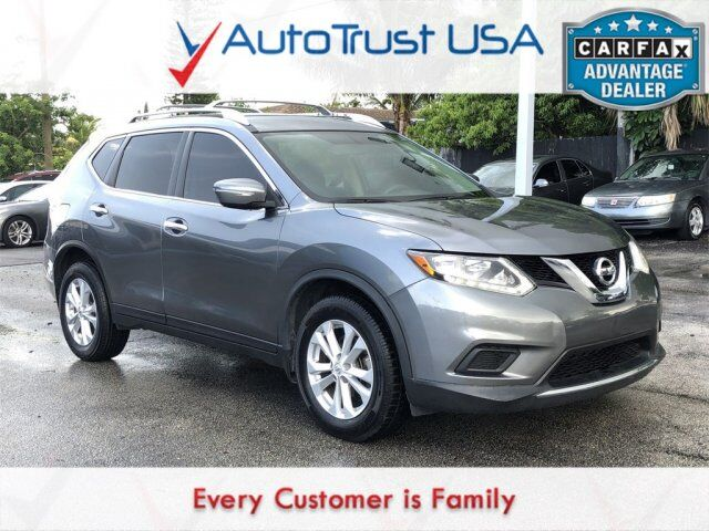 2015 Nissan Rogue SV BACKUP CAM POWER SEAT BLUETOOTH Miami FL