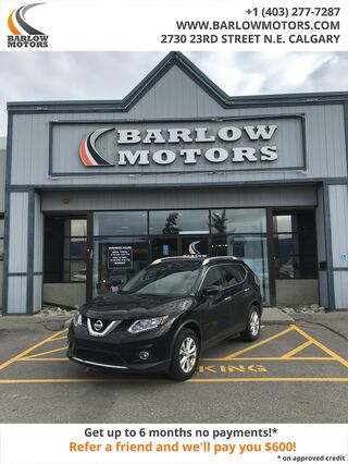 2015_Nissan_Rogue_SV ONE OWNER SUNROOF AWD CLEAN CARFAX_ Calgary AB