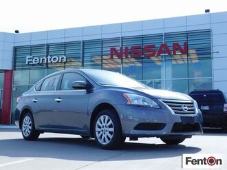 2015_Nissan_Sentra_S CERTIFIED PRE-OWNED - ONE OWNER - LOCAL TRADE_ Ardmore OK