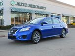 2015 Nissan Sentra SR 1.8L 4CYL AUTOMATIC, CLOTH SEATS, BACKUP CAMERA, BLUETOOTH CONNECTIVITY, HEATED SEATS, SATELLITE/