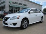 2015 Nissan Sentra SR. BACKUP CAM, BLUETOOTH, HEATED SEATS, KEYLESS ENTRY, PSH BUTTON START. STEERING WHEEL AUDIO CNTRL