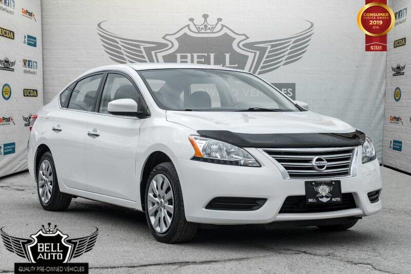 2015 Nissan Sentra SV BLUETOOTH VOICE COMMAND, ALLOY WHEELS