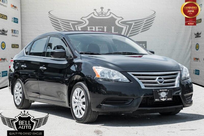 2015 Nissan Sentra Sedan S 1.8T BLUETOOTH CRUISE CONTROL ALLOY WHEELS