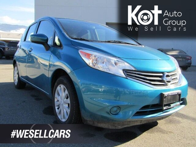 2015 Nissan VERSA NOTE! SV! HATCHBACK! BACK UP CAM! BLUETOOTH! RARE COLOR! Kelowna BC