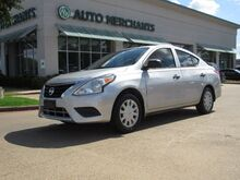 2015_Nissan_Versa_1.6L 4CYL, 5-SPEED, MANUAL TRANSMISSION, A/C, BUCKETS SEATS, REAR BENCH SEATS, AUX INPUT_ Plano TX