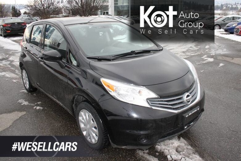 2015 Nissan Versa Note S No accident, Low kms Kelowna BC