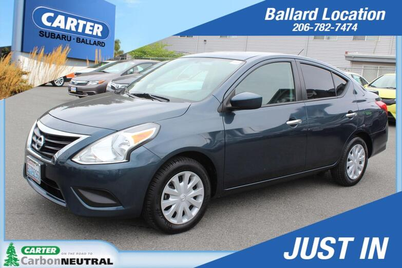 2015 Nissan Versa S Seattle WA