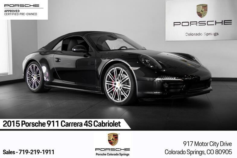 2015 Porsche 911 911 Carrera 4S Cabriolet Colorado Springs CO
