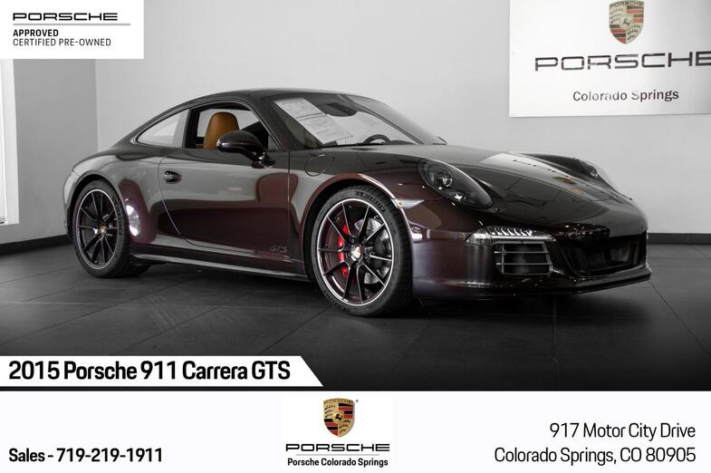 2015 Porsche 911 911 Carrera GTS Colorado Springs CO