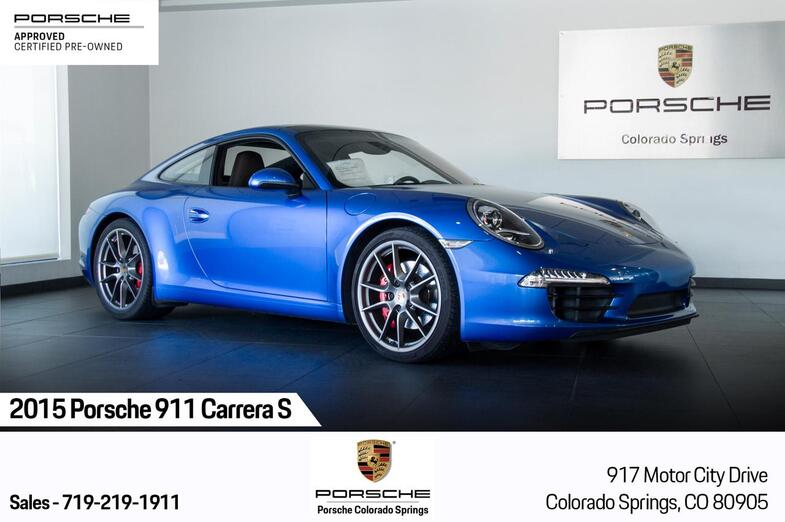 2015 Porsche 911 911 Carrera S Colorado Springs CO