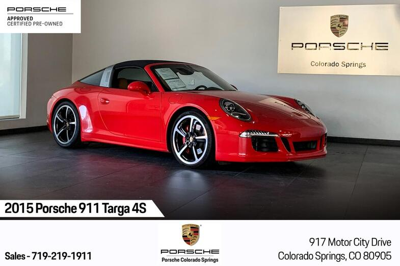 2015 Porsche 911 911 Targa 4S Colorado Springs CO