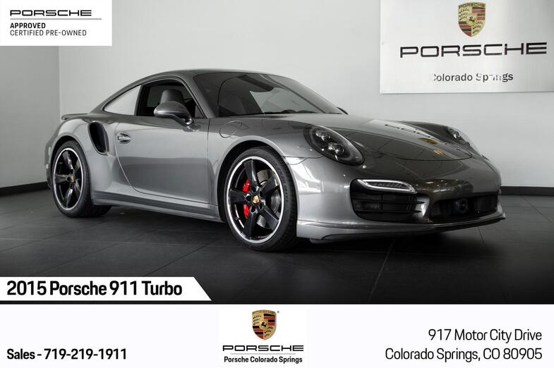 2015 Porsche 911 911 Turbo Colorado Springs CO