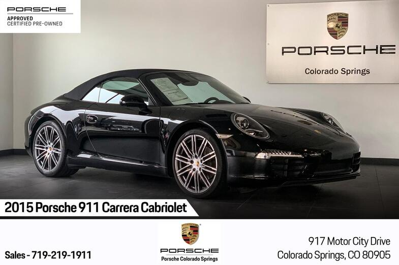 2015 Porsche 911 Carrera Cabriolet Colorado Springs CO