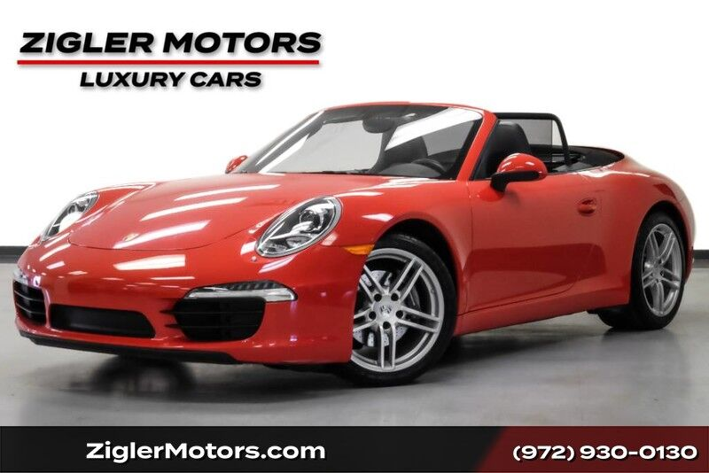 2015 Porsche 911 Carrera Cabriolet only 21Kmi! 7- Speed Manual Clean Carfax