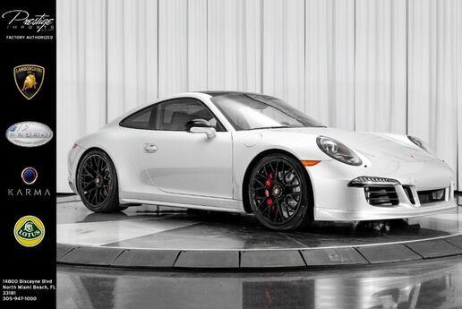 2015 Porsche 911 Carrera GTS North Miami Beach FL