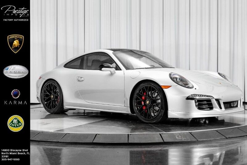 2015_Porsche_911_Carrera GTS_ North Miami Beach FL