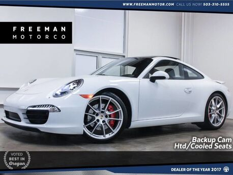2015_Porsche_911_Carrera S 400 HP Htd/Cooled Seats Backup Cam_ Portland OR