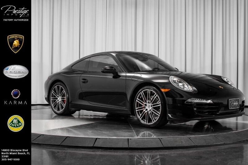 2015_Porsche_911_Carrera S_ North Miami Beach FL