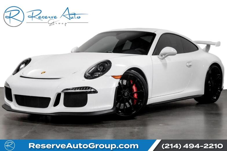 2015 Porsche 911 GT3 Adaptive Seats PDLS Full Leather Pkg The Colony TX
