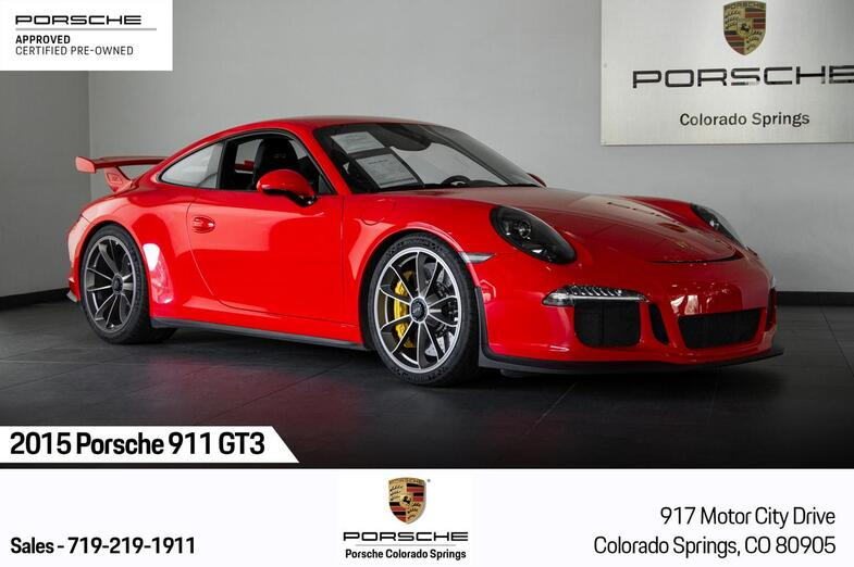 2015 Porsche 911 GT3 Colorado Springs CO