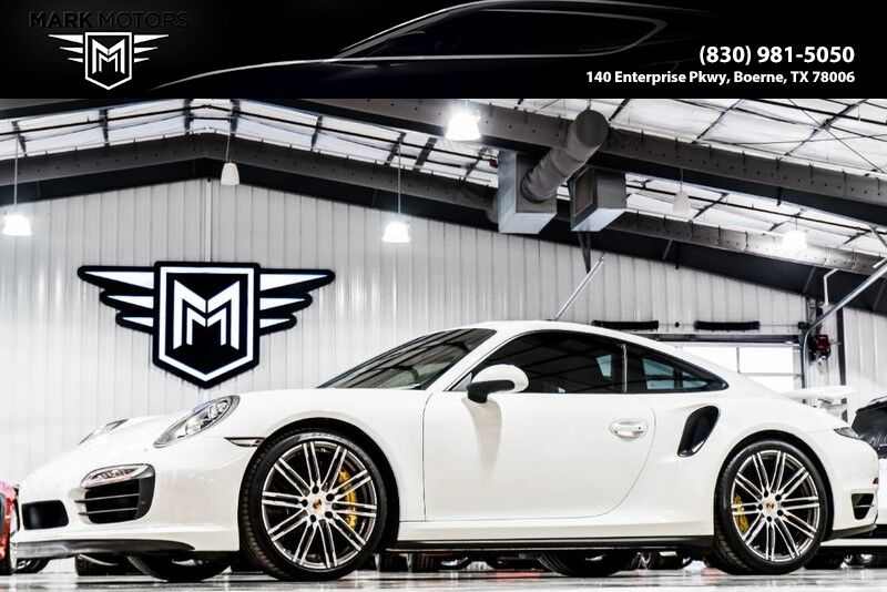 2015_Porsche_911 Turbo S_PREMIUM PACK PLUS - NATURAL LEATHER - ELECTRIC SUNROOF_ Boerne TX