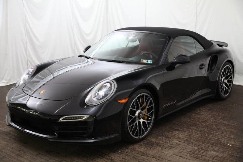2015 Porsche 911 Turbo S Cabriolet Pittsburgh PA