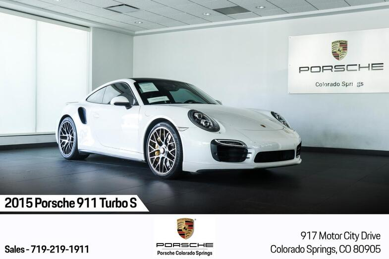 2015 Porsche 911 Turbo S Colorado Springs CO