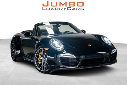 2015_Porsche_911_Turbo S_ Hollywood FL