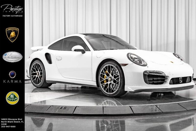 2015_Porsche_911_Turbo S_ North Miami Beach FL